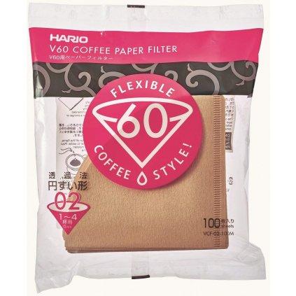 Hario V60-02 papírové filtry