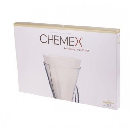 Chemex papírové filtry na 3 šálky