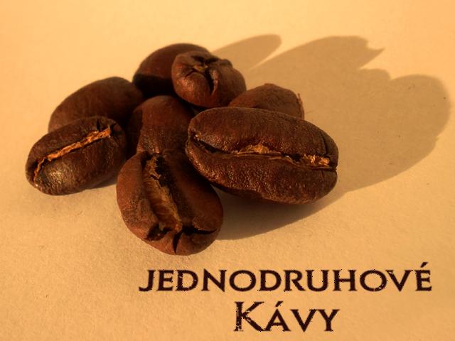 Kávy jednodruhové