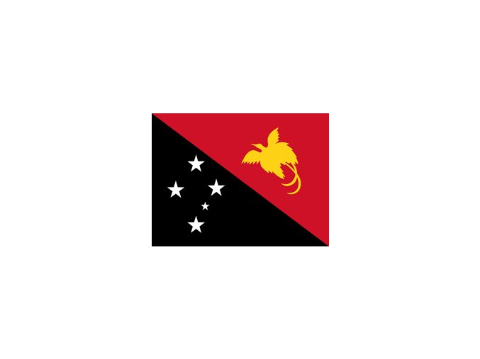 papua new guinea flag xs