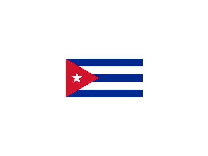 cuba flag xs