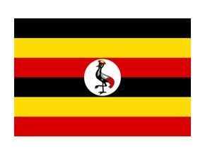 uganda flag xs