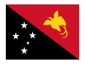 papua new guinea flag xs