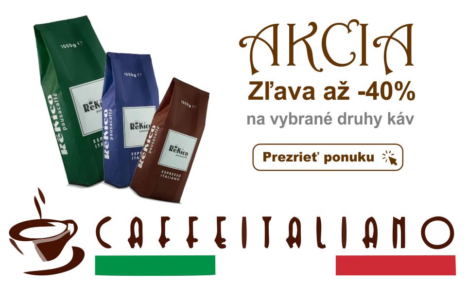 Výpredaj zrnkovej kávy