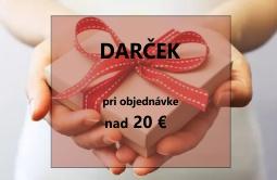 Darček k objednávke nad 20 €