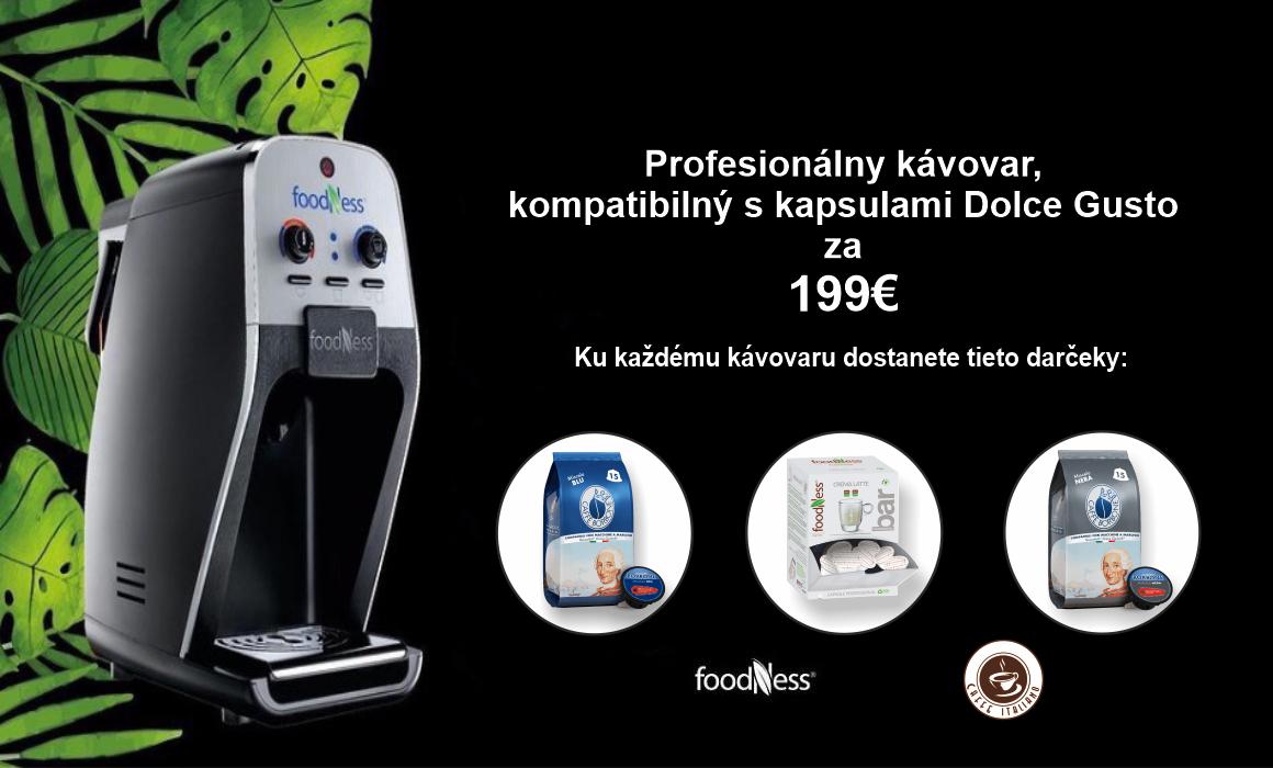 Profesionálny kávovar Foodness