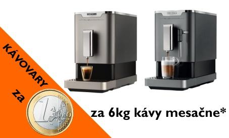 Kávovar za 1 euro
