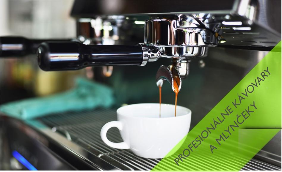 Profesionálne kávovary a príslušenstvo