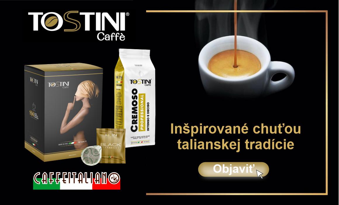 Tostini caffe talianska tradícia