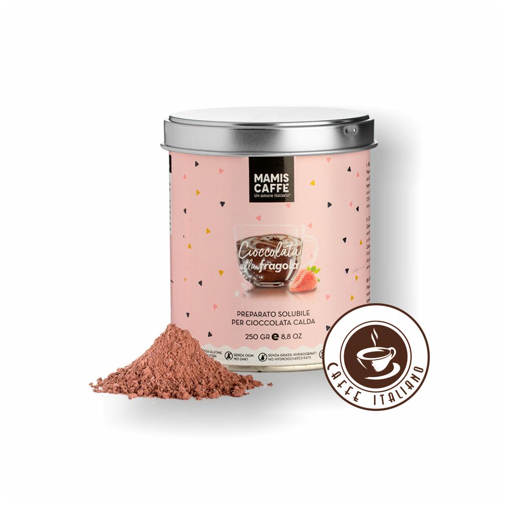 Horúca čokoláda Mamis - Jahoda