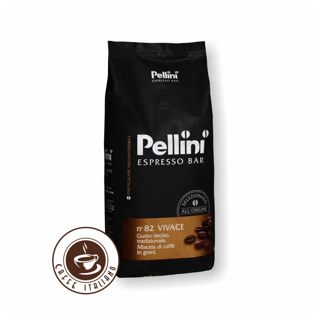 Pellini Espresso Bar n°82 Vivace 1 kg zrnková káva