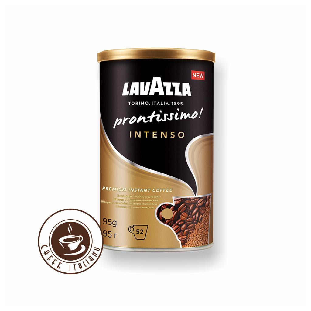 Lavazza Prontissimo Intenso rozpustná káva 95g