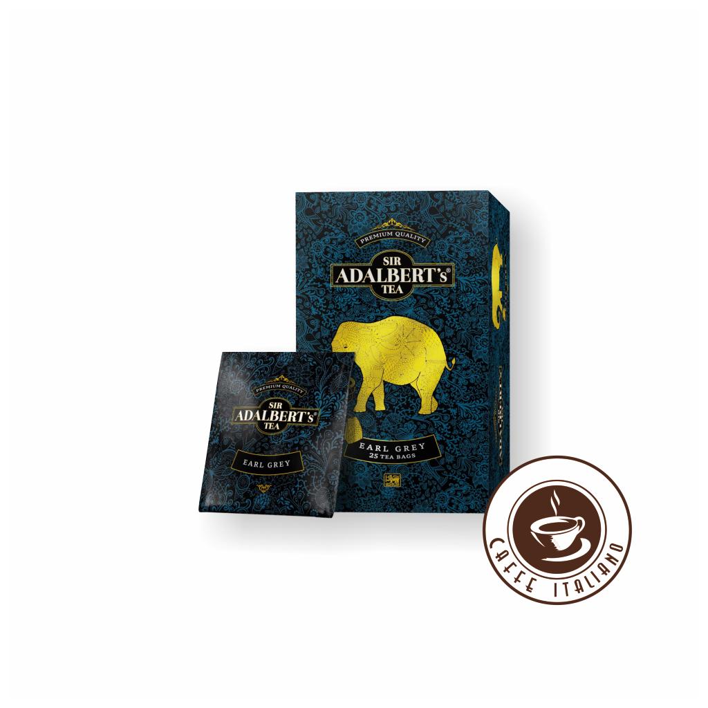 Sir Adalbert's Tea Earl Grey porciovaný čaj 25 ks