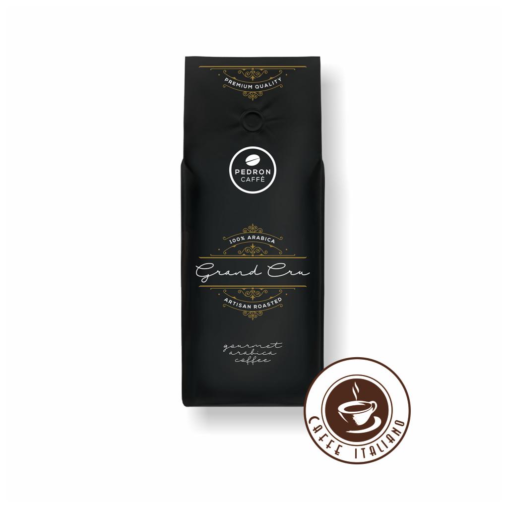 Pedron Gran Cru 100% Arabica zrnková káva 1 kg