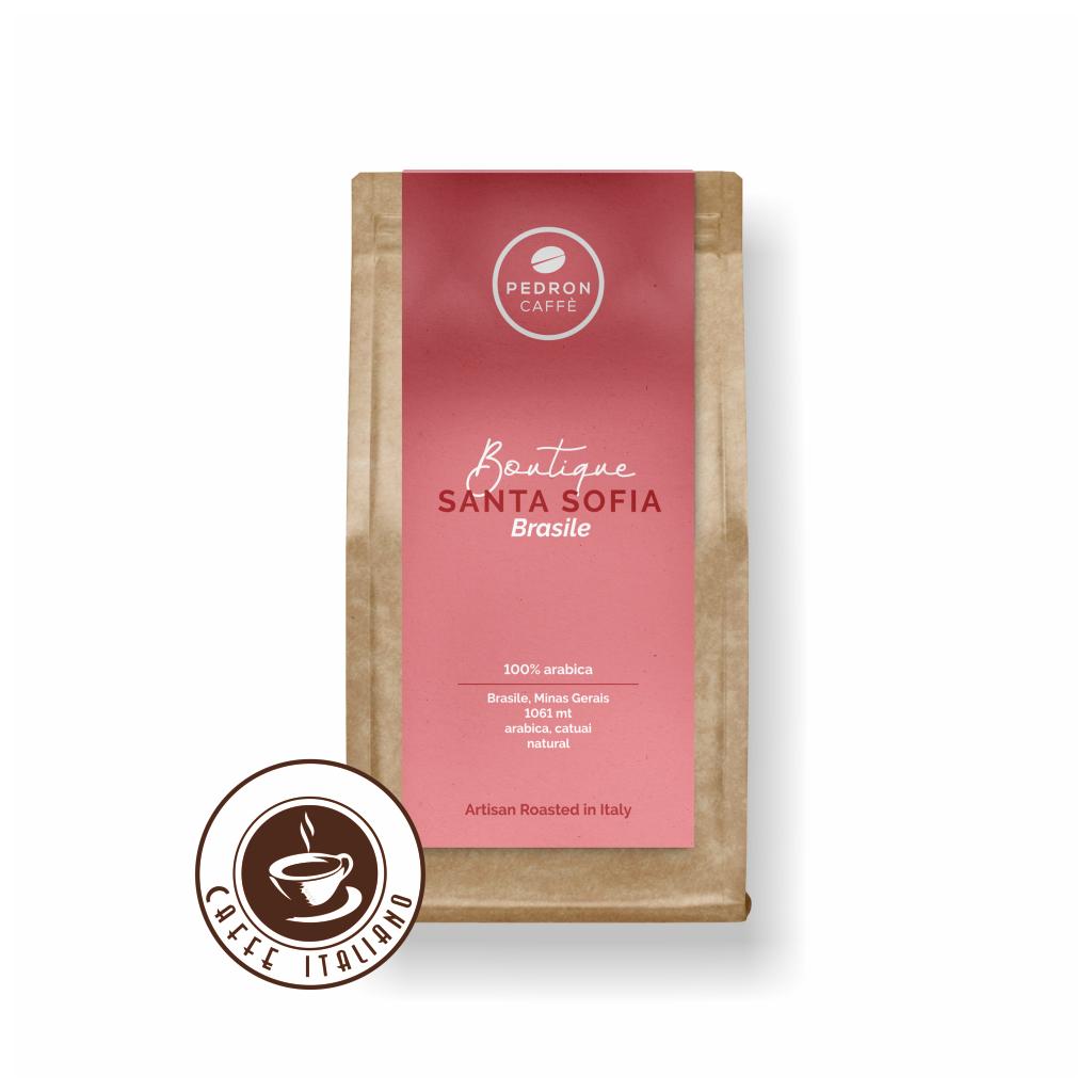 Pedron BRASIL SANTA SOFIA zrnková káva 250g