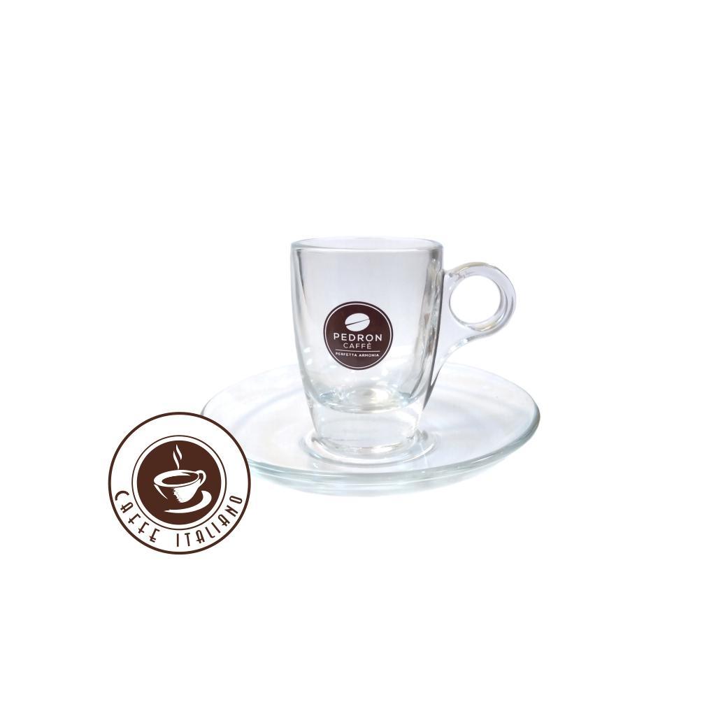 pedron espresso sklo