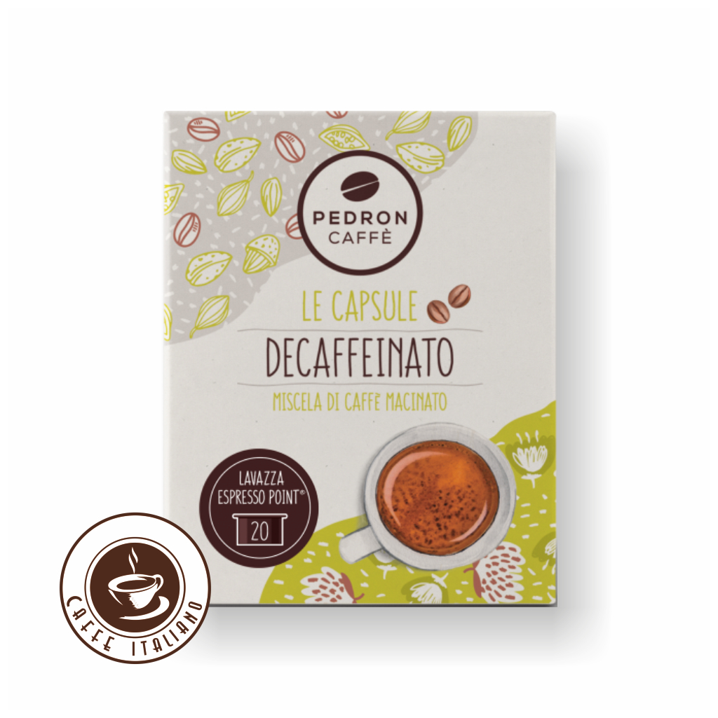 Pedron DECAFFEINATO Espresso Point bezkofeínové kapsule 20ks