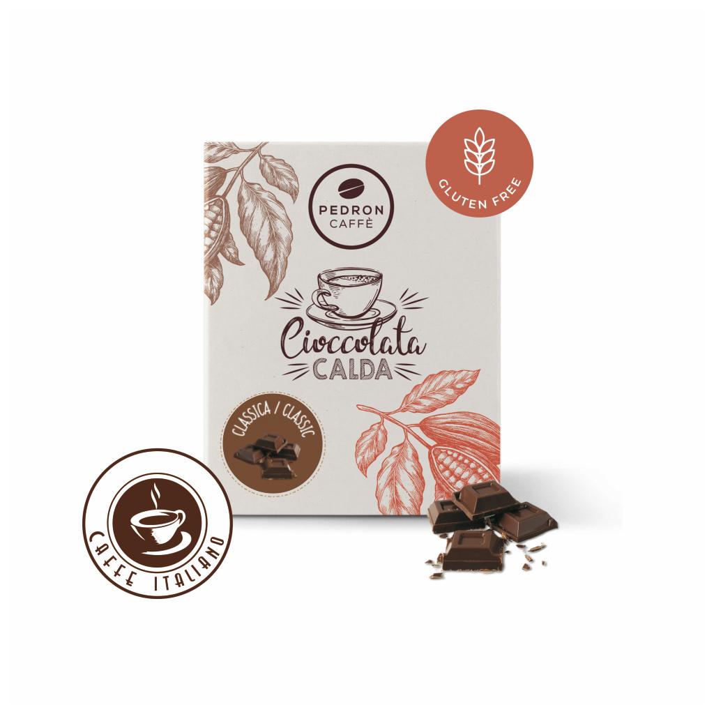 pedron caffe horuca cokolada 20ks 30g logo caffeitaliano