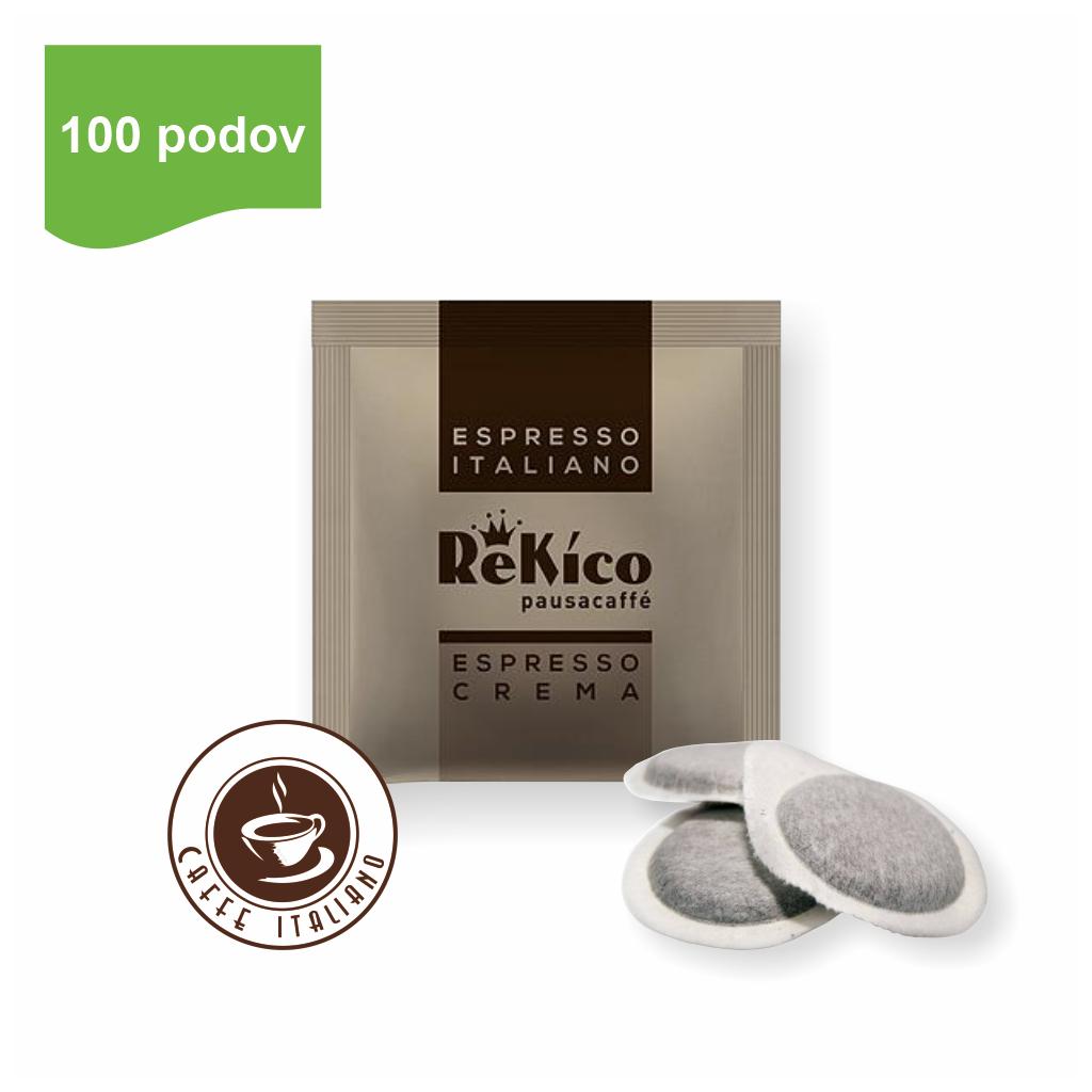 Rekico ESPRESSO CREMA E.S.E. pody 100ks