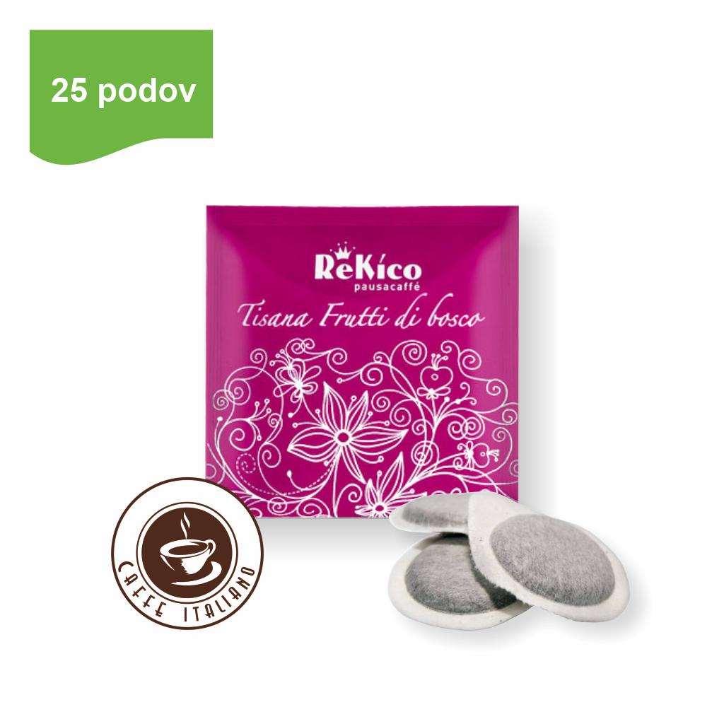 ReKico FRUTTI DI BOSCO ovocný čaj e.s.e. pod 25 ks