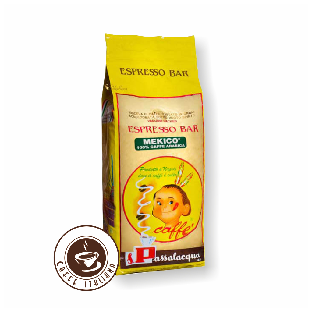 Passalacqua Mexico 1kg zrnková káva