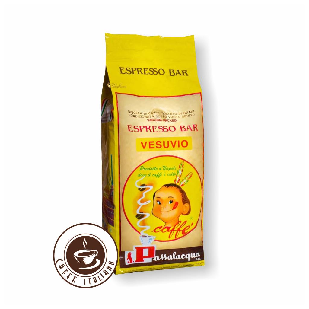 Passalacqua Vesuvio 1kg zrnková káva