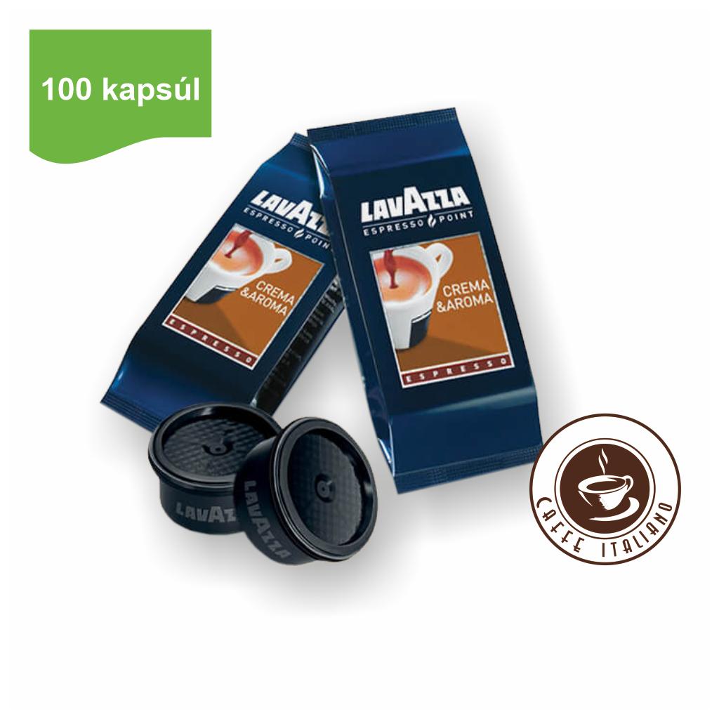 Lavazza Crema e Aroma Espresso EP kapsule 100ks