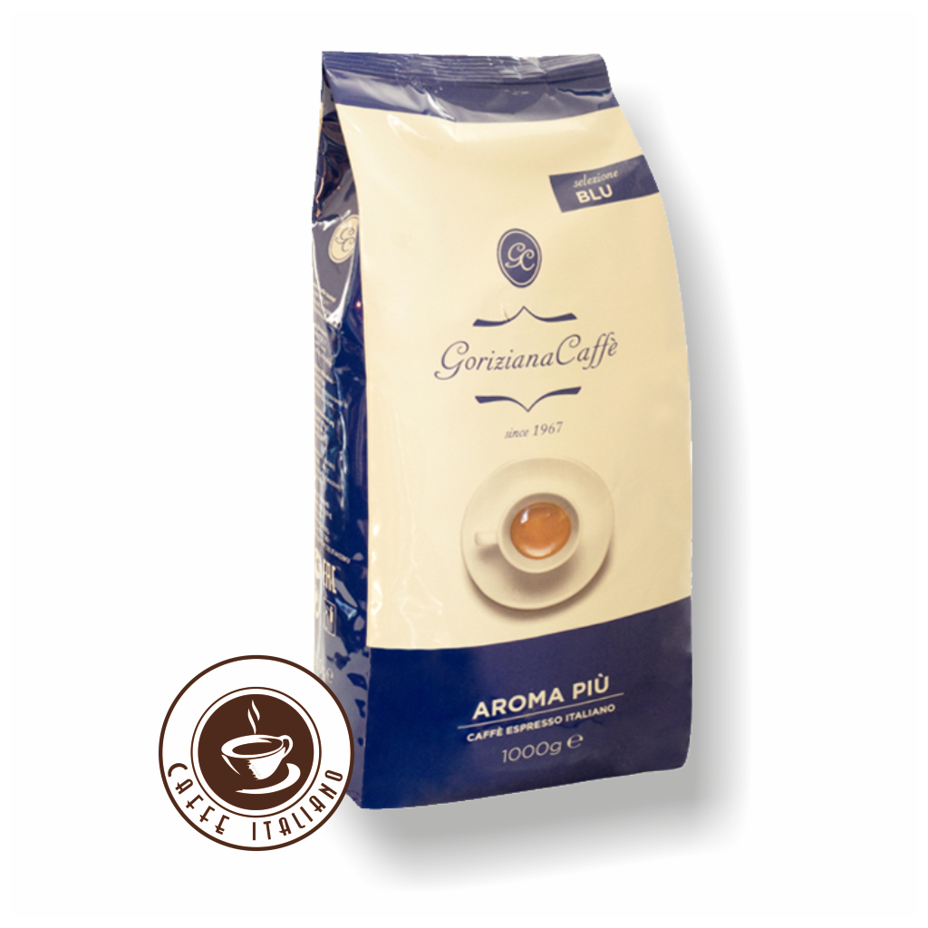 Goriziana Blue Aroma Piu zrnková káva 1kg