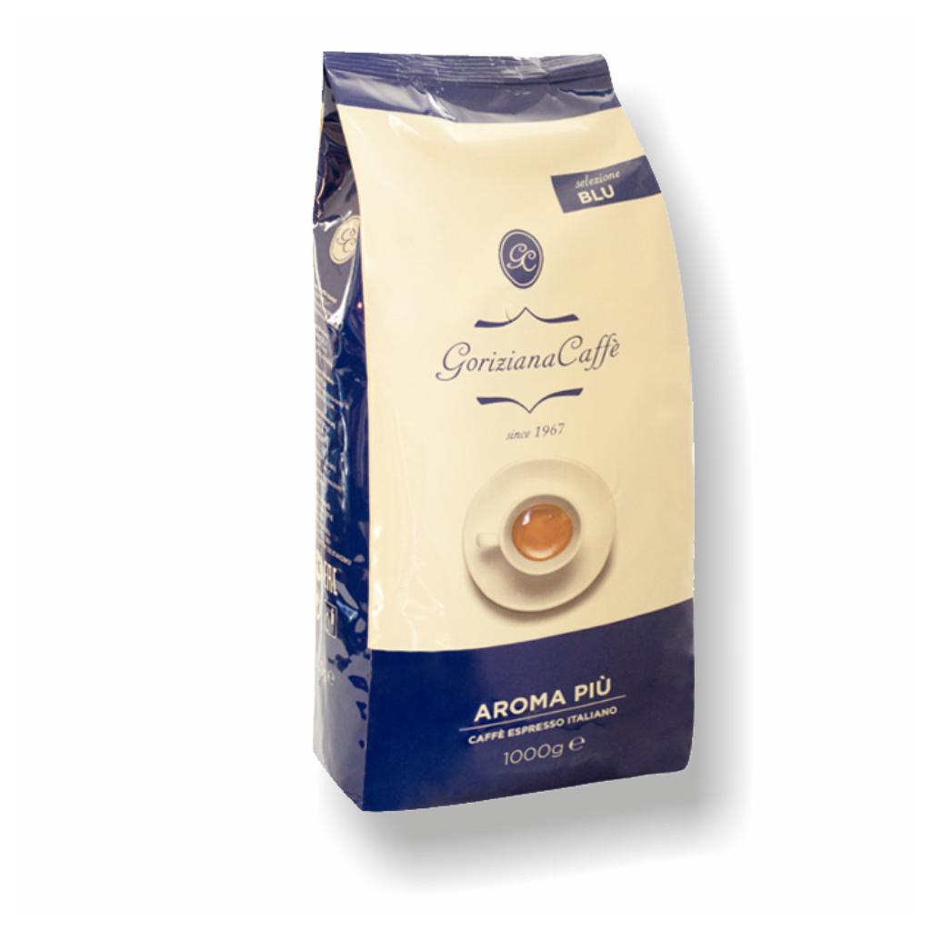 Goriziana caffe Blue Selection Aroma Piu zrnková káva 1kg