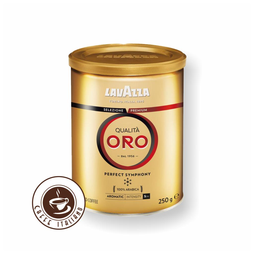 Lavazza Qualita Oro 250g mletá káva v dóze