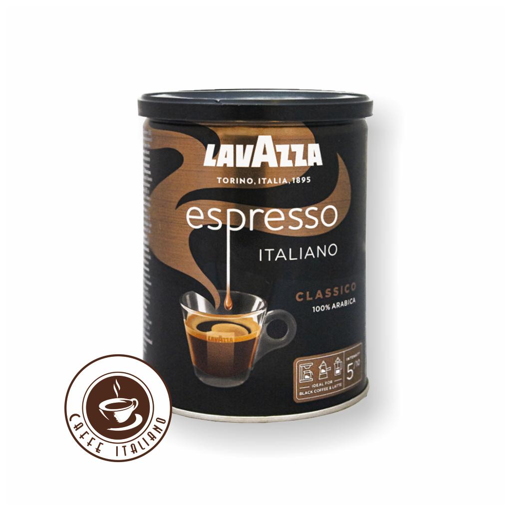 Lavazza Caffe Espresso 250g mletá v dóze