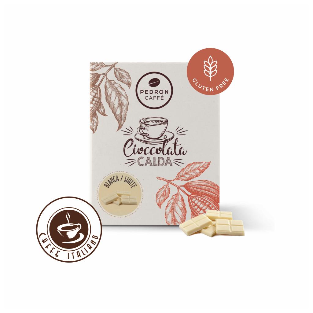 Horúca čokoláda Pedron - Biela čokoláda, 20x30g porciovaná
