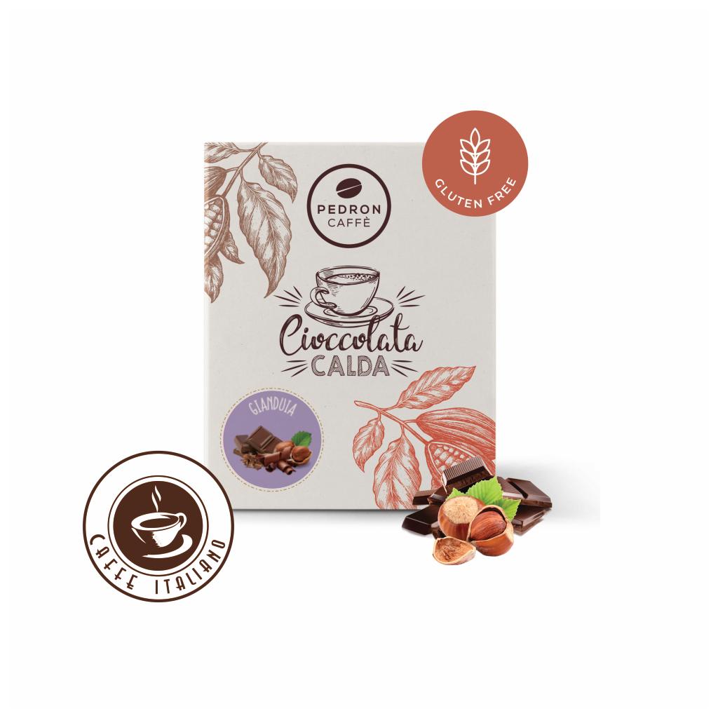 Horúca čokoláda Pedron - Lieskový orech, 20x30g porciovaná