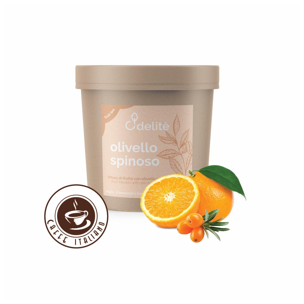 Pedron sypaný ovocný čaj Pomaranč a Rakytník 120g