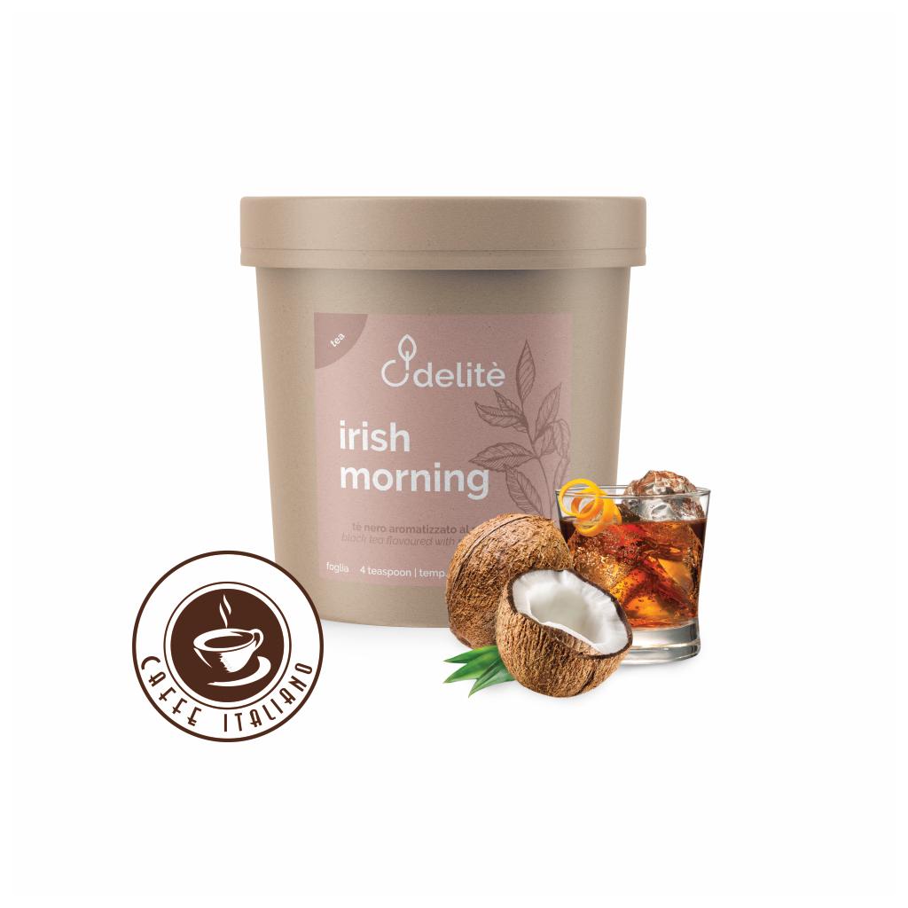 Pedron sypaný čierny čaj Írske ráno-Rum a Kokos 90g