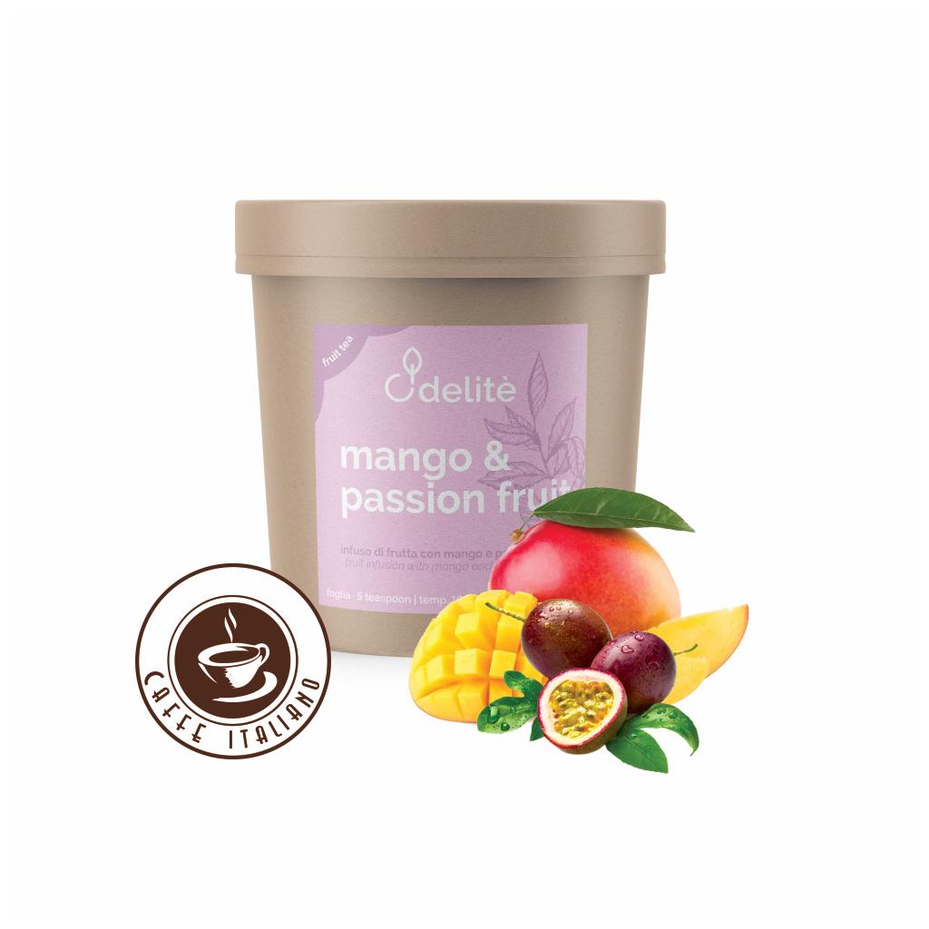 Pedron sypaný ovocný čaj Mango a Vášnivé ovocie 100g