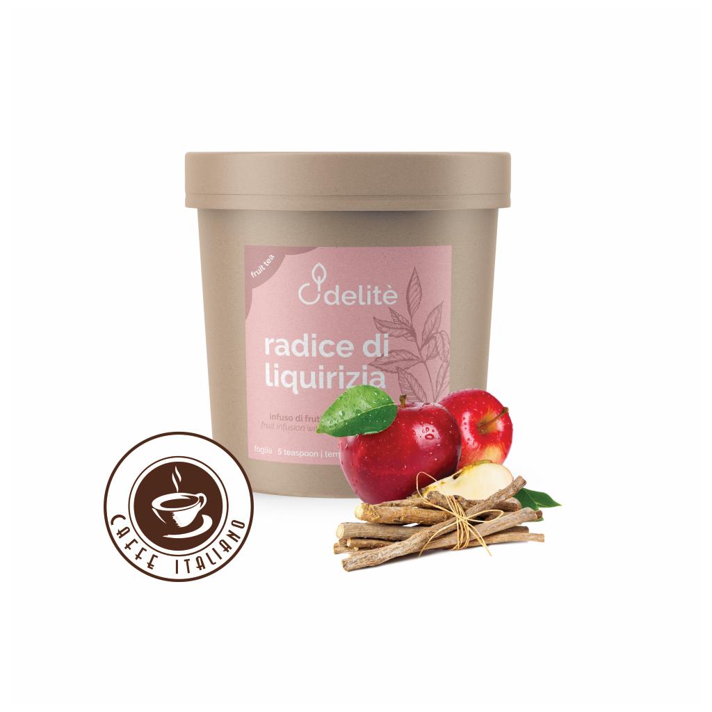 Pedron sypaný ovocný čaj Sladké drievko a Jablko 150g