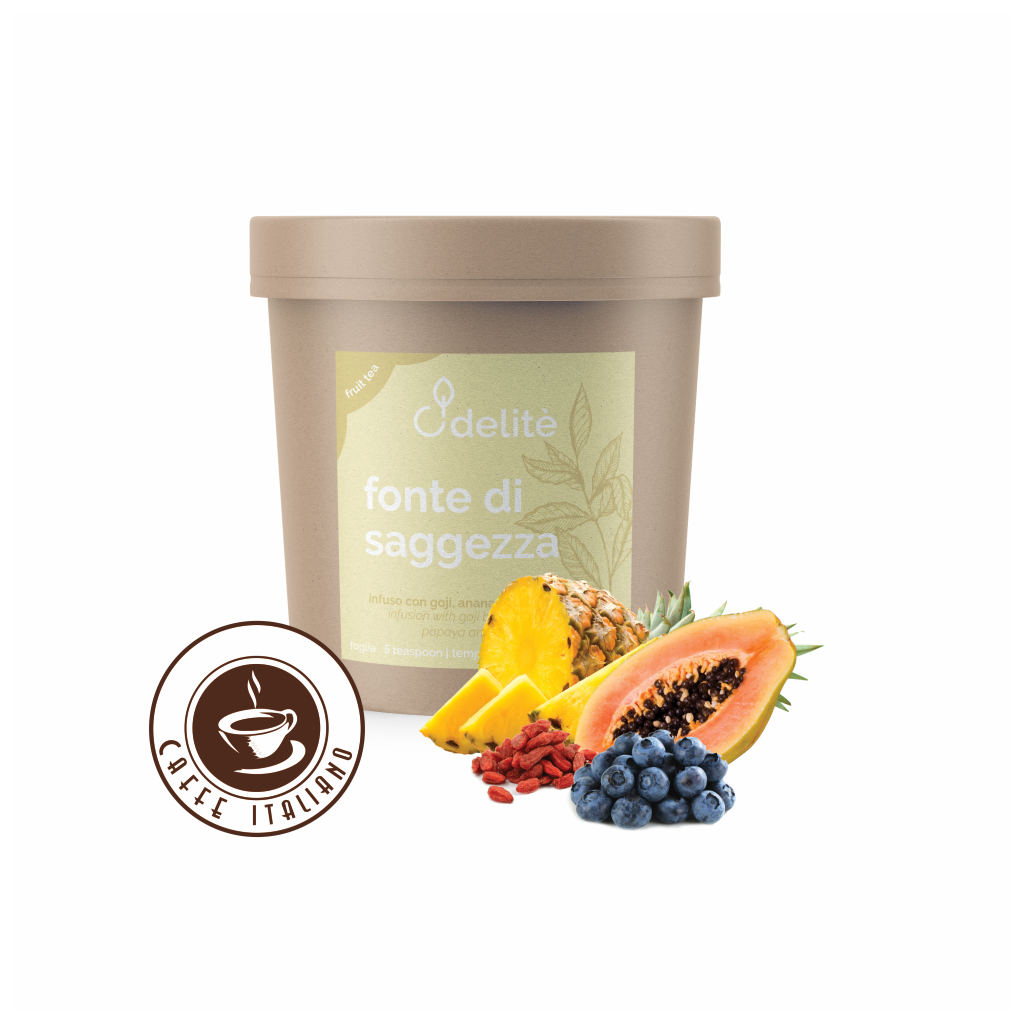 Pedron ovocný čaj Goji, Čučoriedka, Ananás, Papája 120g