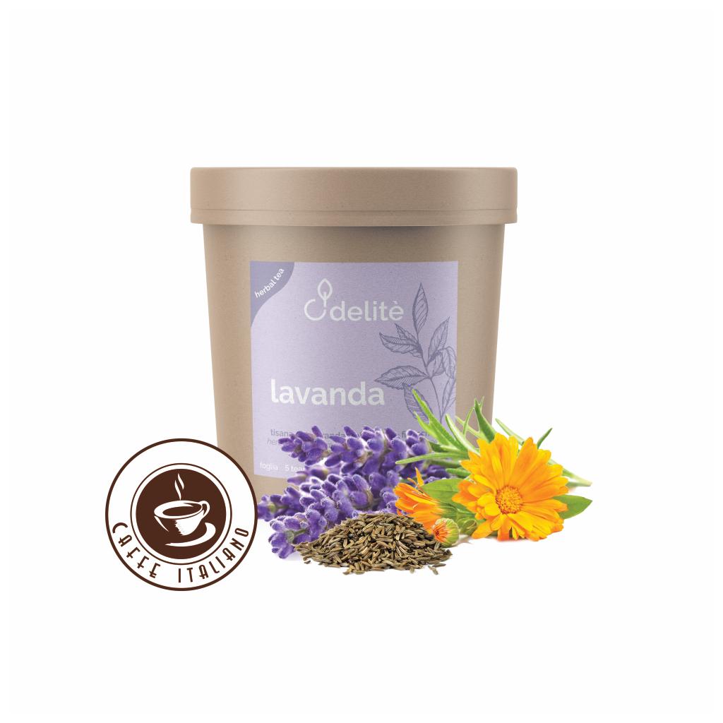 Pedron sypaný bylinkový čaj Levanduľa, Nechtík a Fenikel 60g