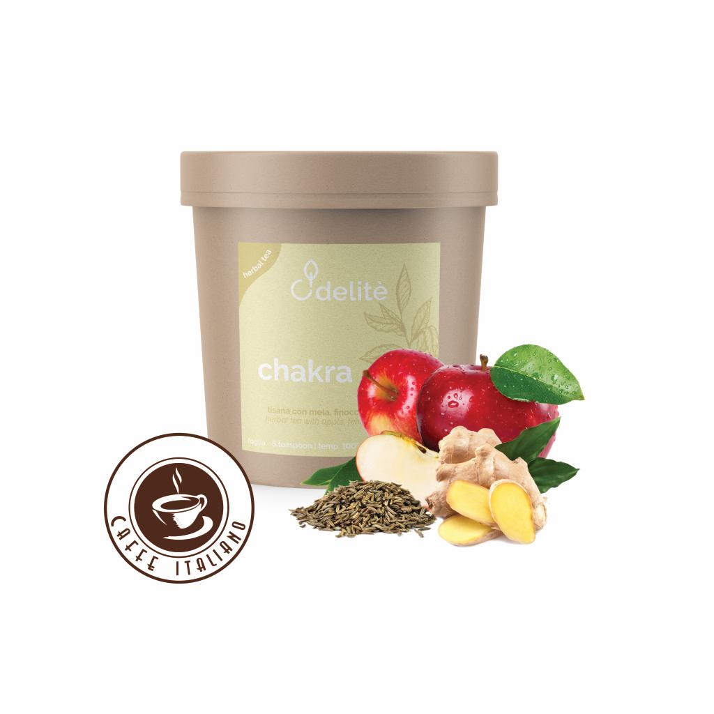 Pedron sypaný bylinkový čaj Jablko, Fenikel a Zázvor 60g