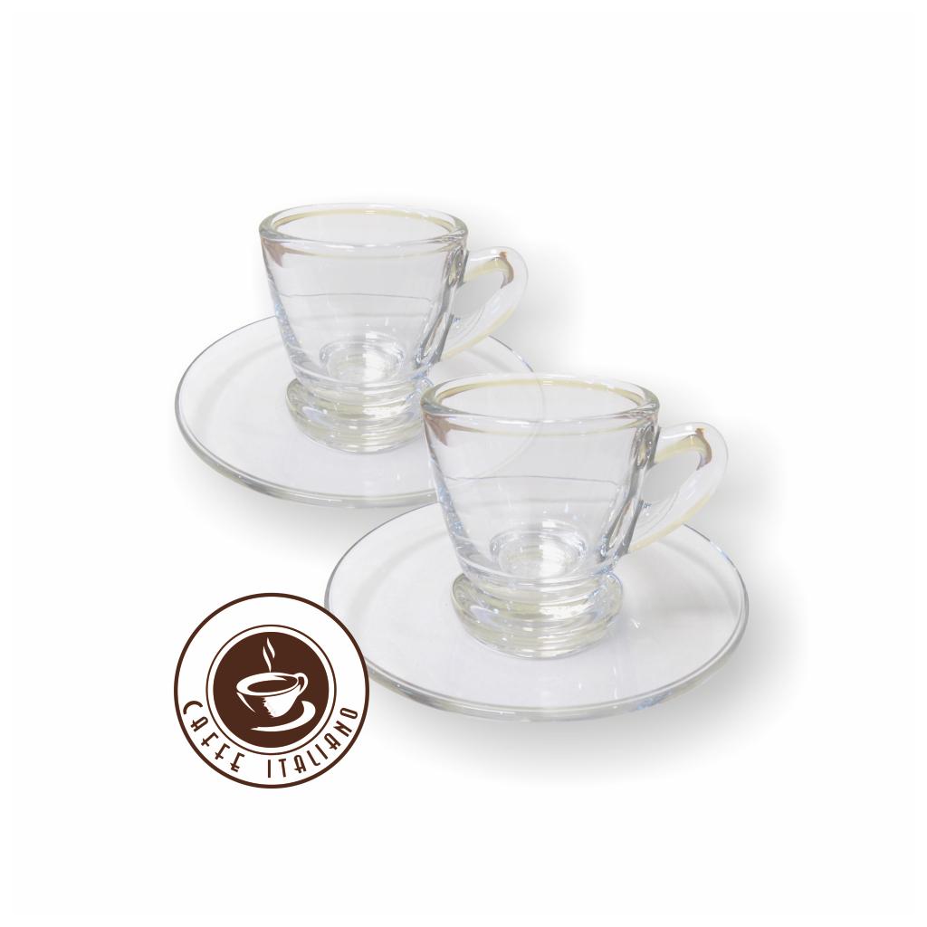 Scanpart Espresso šálky a podšálky (2ks/70ml)