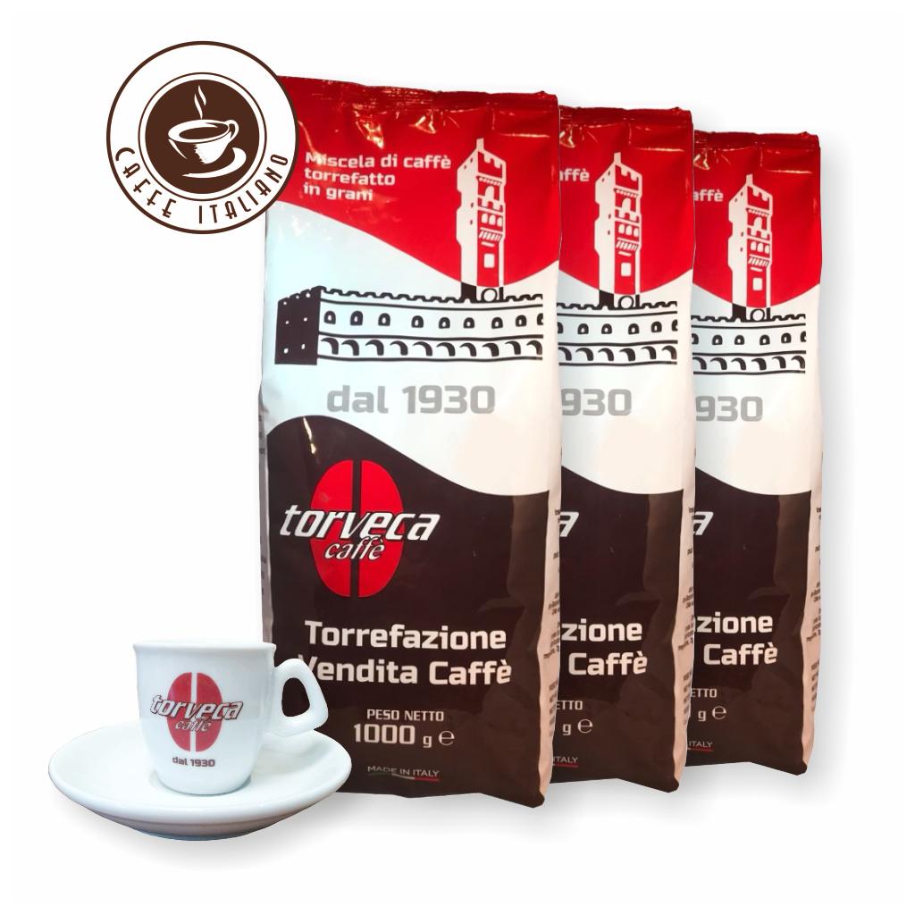 Torveca Blend 3kg kávy + šálka grátis