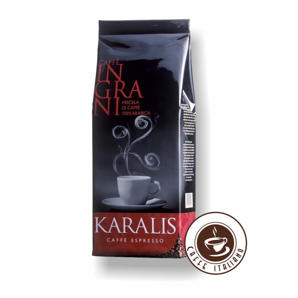 Caffè Karalis grani Rossa 1kg