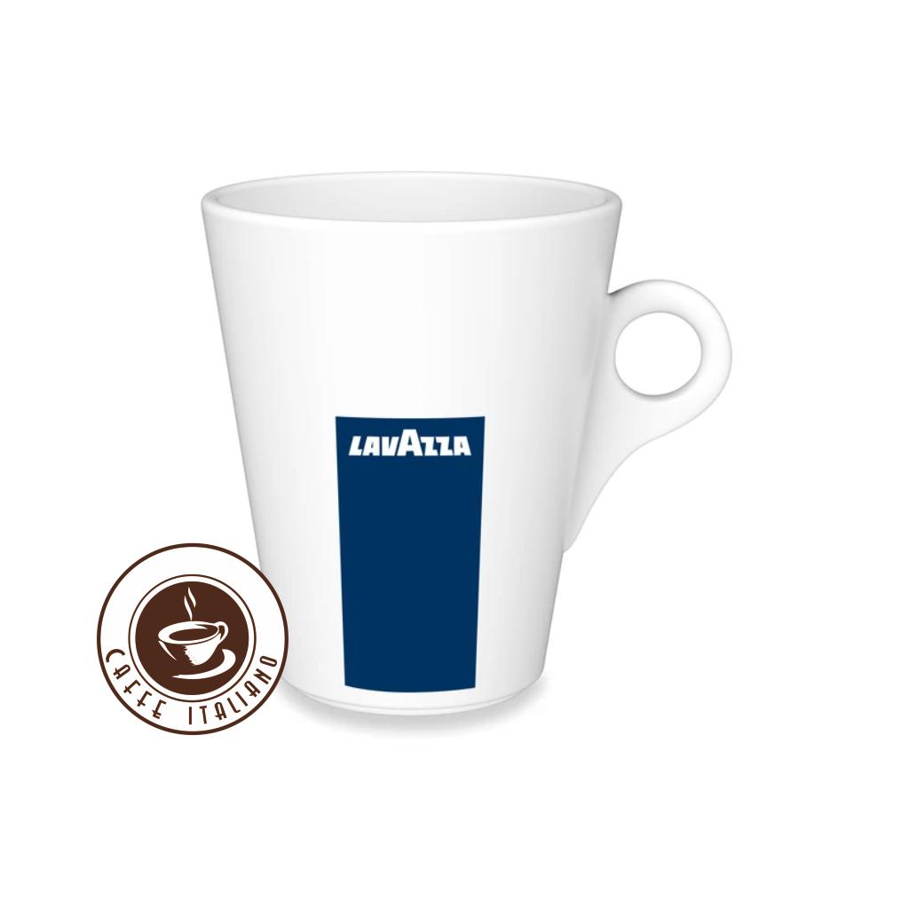 lavazza salka 300ml biela porcelan logo caffeitaliano