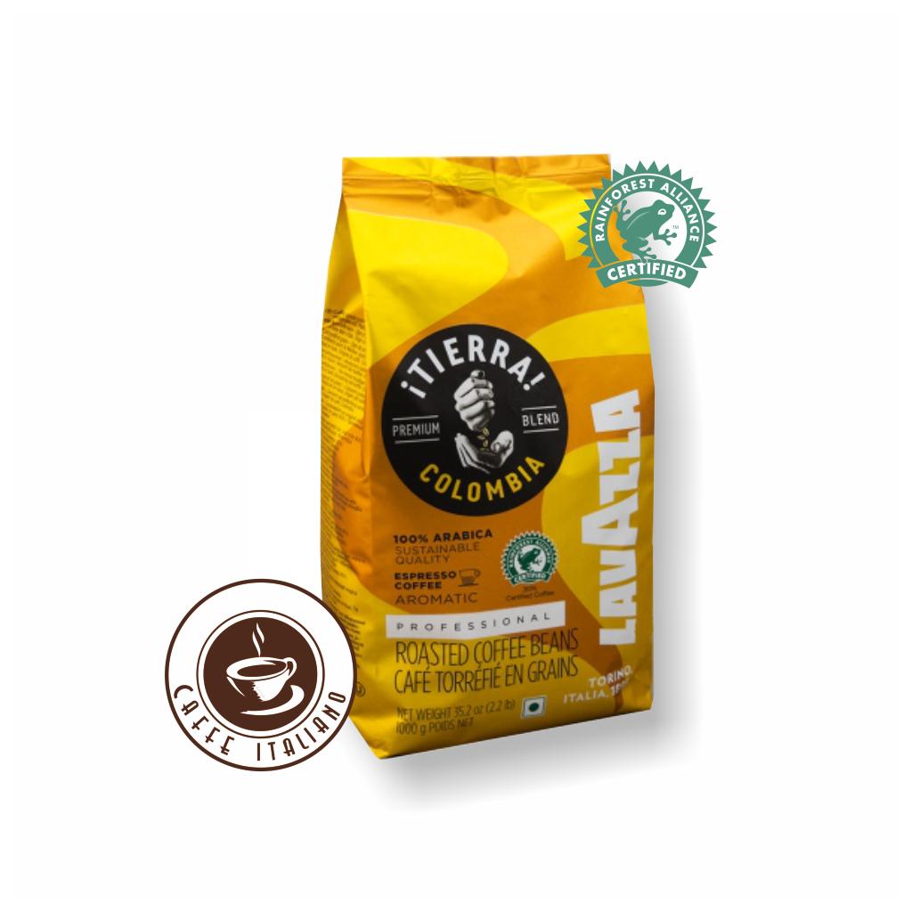 Lavazza Tierra Colombia 1kg zrnková káva