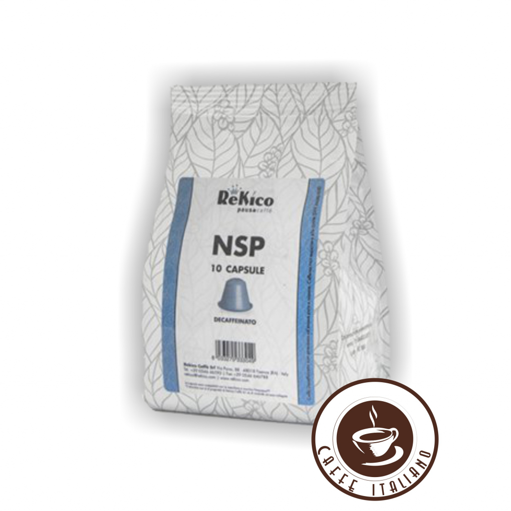 ReKico bezkofeínu Nespresso kapsule 10ks  záruka do 20.12.2020