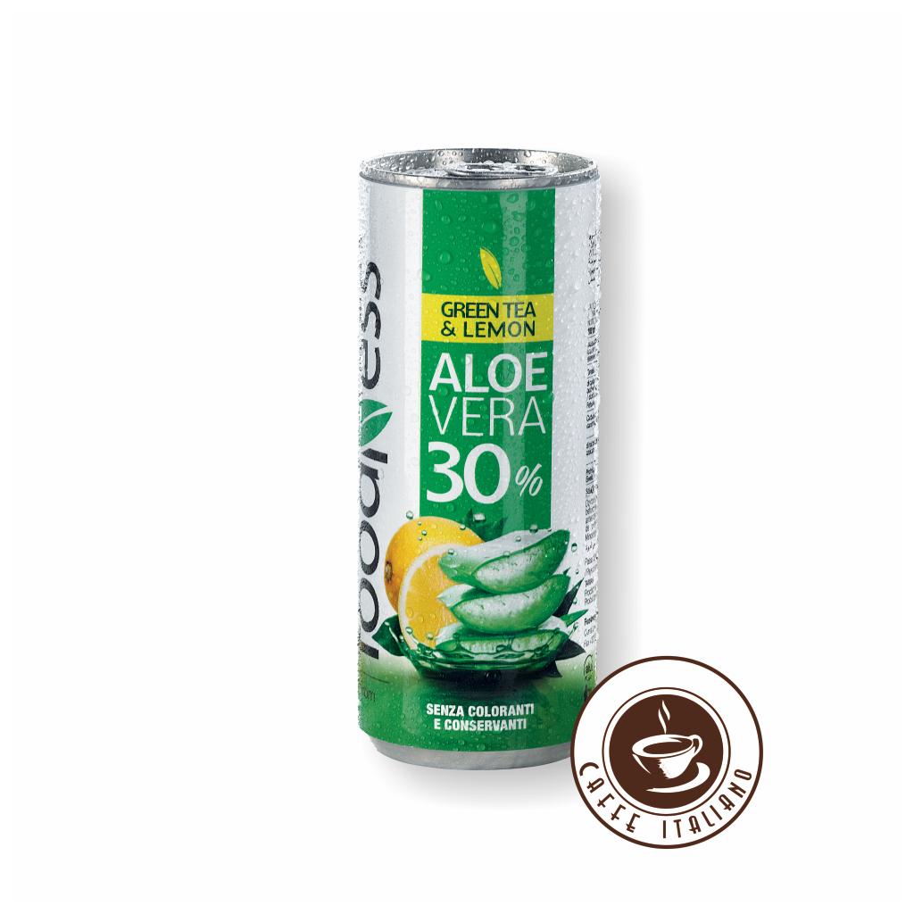 Aloe Vera zelený čaj a citrón 250ml