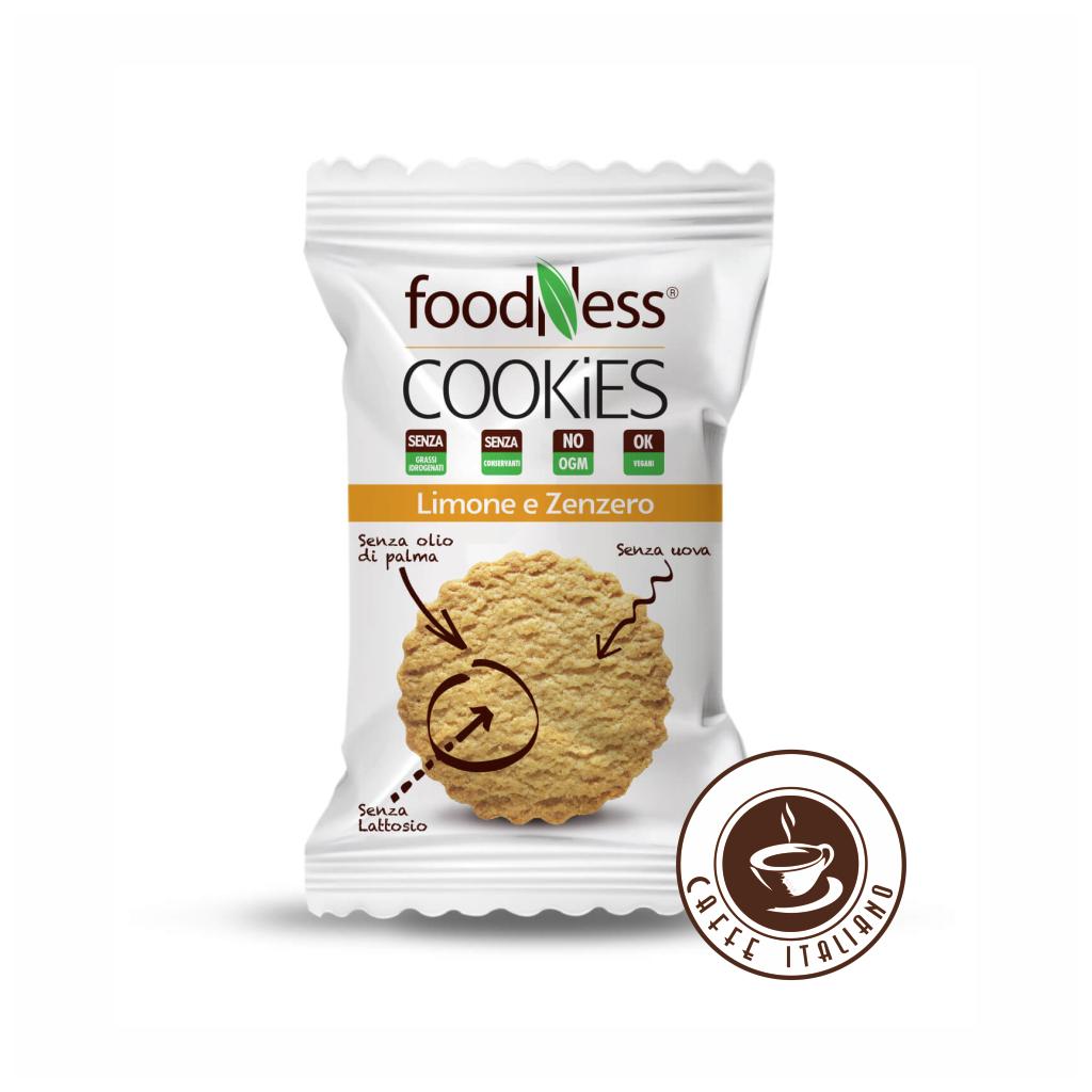 Cookies Citrón & Zázvor 40g