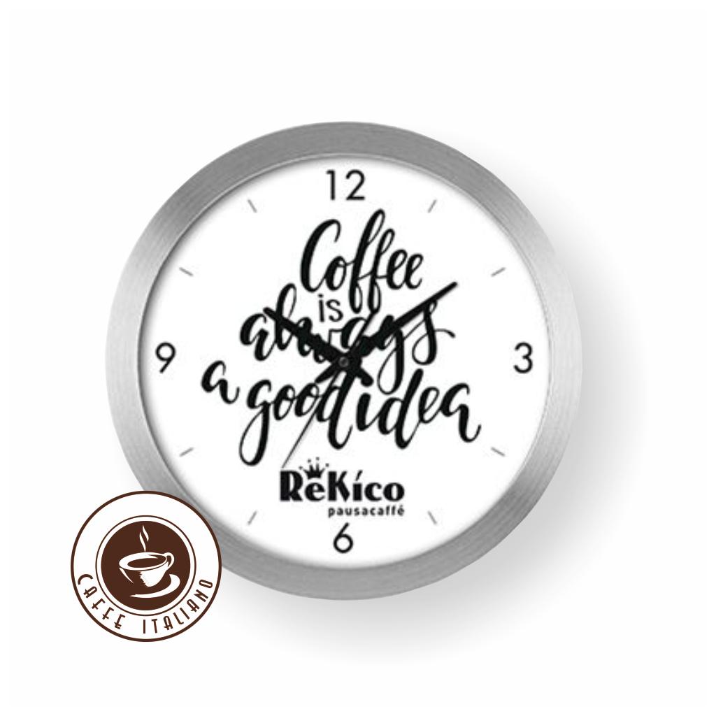 rekico nastenne hodiny logo caffeitaliano