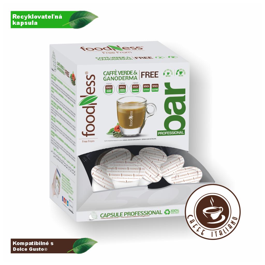 Zelená káva s Reishi 50 kapsúl/14g
